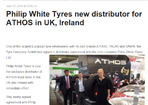 Tyre & Asia  - New ATHOS distributor in UK